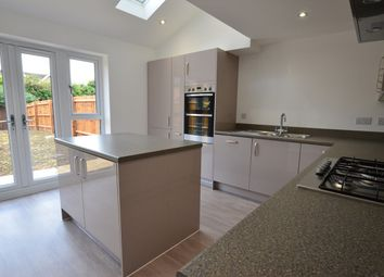 Thumbnail 4 bed town house to rent in St Johns Close, Off Thorpe Road, Peterborough