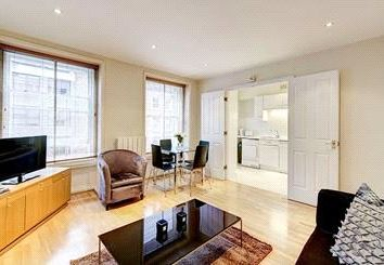 Thumbnail 1 bed flat to rent in Cedar House, 39-41 Nottingham Place, Marylebone, London