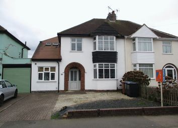 Thumbnail 4 bed semi-detached house for sale in Stanley Road, Hinckley