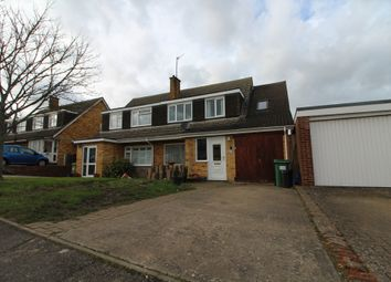 Thumbnail 4 bed semi-detached house for sale in Milton Drive, Newport Pagnell, Buckinghamshire