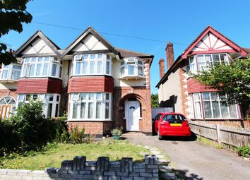 Thumbnail 3 bed semi-detached house to rent in Gainsborough Road, New Malden
