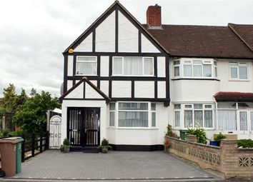 Thumbnail 3 bed end terrace house for sale in Oakfield Gardens, Carshalton, Surrey