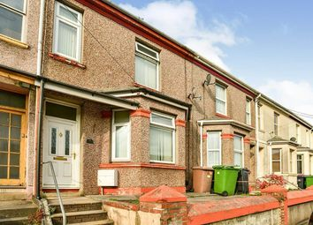 Thumbnail 3 bed terraced house to rent in Pomphlett Road, Plymouth