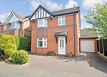 Thumbnail 3 bed detached house to rent in Gilderdale Way, Oakwood, Derby