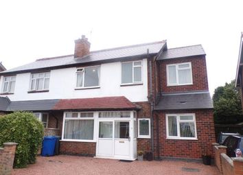 Thumbnail 4 bed semi-detached house for sale in Western Road, Mickleover, Derby, Derbyshire