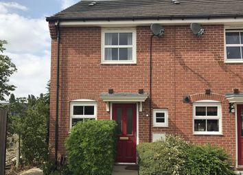 Thumbnail 2 bed terraced house to rent in Hillside Gardens, Wittering, Peterborough