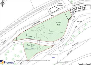 Thumbnail Land for sale in Callis Mill, Halifax Road, Hebden Bridge