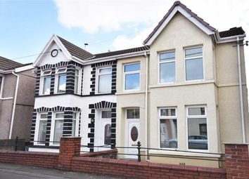 Thumbnail 4 bedroom semi-detached house for sale in Brighton Road, Gorseinon, Swansea