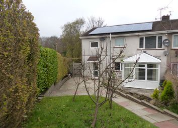 Thumbnail 5 bed semi-detached house for sale in Daleside, Bryncethin, Bridgend.