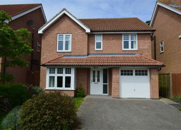Thumbnail 4 bed detached house for sale in Rawson Way, Hornsea, East Yorkshire