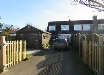 Thumbnail 3 bed semi-detached bungalow for sale in Seas End Road, Surfleet, Spalding, Lincolnshire