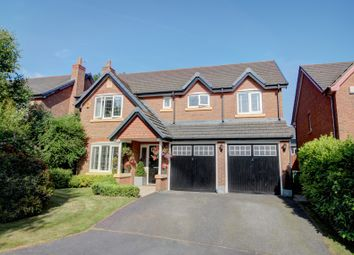 Thumbnail 5 bed detached house for sale in Houghton Close, Northwich