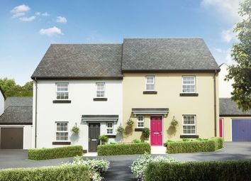 "Thumbnail 3 bed semi-detached house for sale in ""The Elliot"" at The Rocklands, Chudleigh, Newton Abbot"
