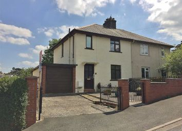 Thumbnail 3 bed semi-detached house for sale in Second Avenue, Aberystwyth, Ceredigion