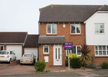 Thumbnail 4 bed semi-detached house for sale in Grandsire Gardens, Rochester