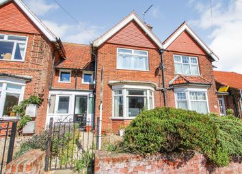 Thumbnail 2 bedroom terraced house for sale in Cromer Road, Mundesley, Norwich