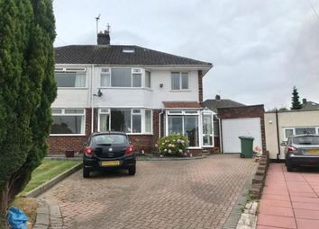 Thumbnail 3 bed semi-detached house for sale in Bentfield Gardens, Higher Bebington, Wirral