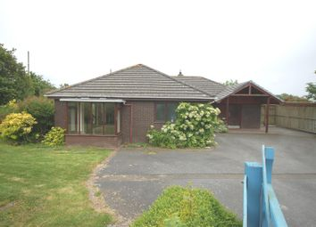 Thumbnail 2 bed detached bungalow for sale in Lluest, Llanbadarn Fawr, Aberystwyth
