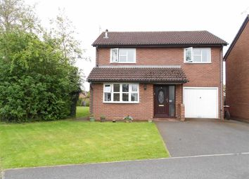 Thumbnail 4 bed detached house for sale in Bradeley Hall Road, Haslington, Crewe, Cheshire