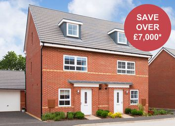 """Thumbnail 4 bedroom semi-detached house for sale in """"Kingsville"""" at Musselburgh Way, Bourne"""