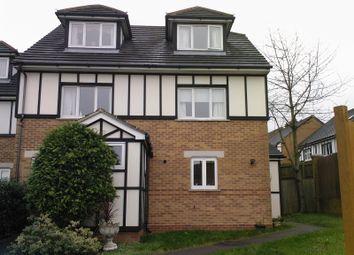 Thumbnail 3 bed semi-detached house to rent in Heton Gardens, Oakwood Park, London, Hendon