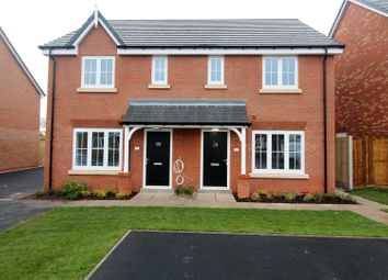 Thumbnail 3 bedroom semi-detached house for sale in 40 Damson Way, Market Drayton
