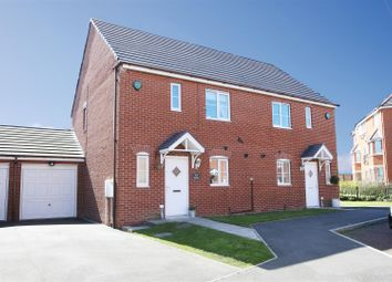 Thumbnail 3 bed semi-detached house for sale in Bayfield, West Allotment, Newcastle Upon Tyne