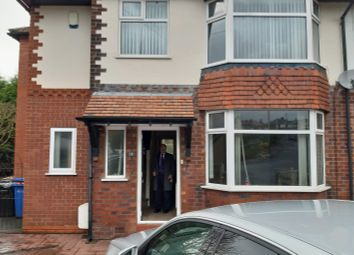 Thumbnail 3 bed semi-detached house to rent in Hollins Green Road, Marple, Stockport