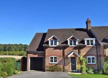 Thumbnail 4 bed semi-detached house for sale in Oxford Road, Donnington, Newbury