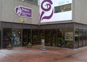 Thumbnail Retail premises to let in Castle Wynd, Inverness