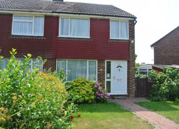 Thumbnail 3 bed semi-detached house for sale in Old Bridge Road, Whitstable
