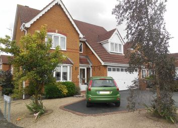 Thumbnail 4 bed detached house for sale in Windrush Drive, Hinckley
