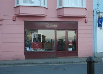 Thumbnail Commercial property to let in High Street, Tenby, Pembrokeshire