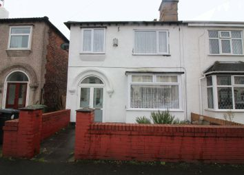 Thumbnail 3 bed semi-detached house to rent in Burdett Road, Waterloo, Liverpool