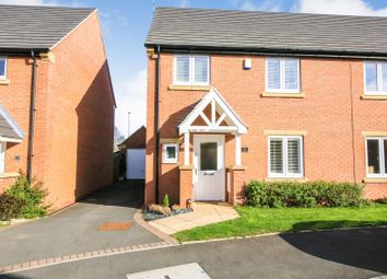 Thumbnail 3 bed semi-detached house for sale in Roundhouse Drive, Cawston, Rugby