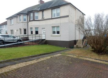 Thumbnail 2 bed flat to rent in Glasgow Road, Wishaw