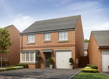 "Thumbnail 4 bed detached house for sale in ""The Burnby"" at Cobblers Lane, Pontefract"