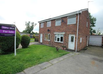 Thumbnail 2 bed semi-detached house for sale in Millford Way, Durham