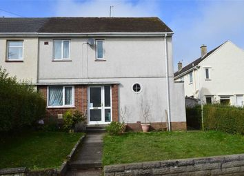 Thumbnail 2 bed semi-detached house for sale in Cypress Avenue, West Cross, Swansea