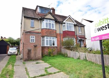 Thumbnail 4 bed semi-detached house for sale in The Brow, Waterlooville, Hampshire