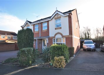 Thumbnail 3 bed semi-detached house for sale in Lords Close, Coalville