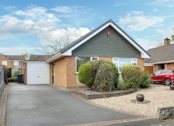 Thumbnail 2 bed detached bungalow for sale in Russell Avenue, Alsager, Stoke-On-Trent
