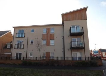Thumbnail 2 bed flat for sale in Planets Way, Biggleswade, Bedfordshire