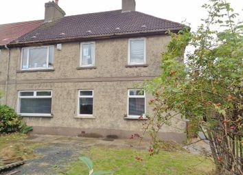 Thumbnail 3 bed flat for sale in Methil Brae, Methil, Leven
