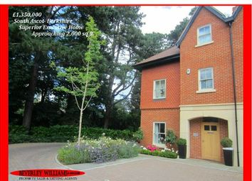 Thumbnail 4 bed semi-detached house for sale in Queensbury Gardens, Ascot
