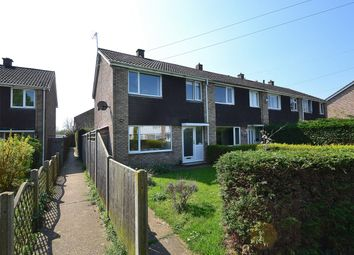 Thumbnail 3 bed end terrace house for sale in Beeson Close, Little Paxton, St Neots, Cambridgeshire