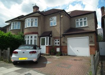 Thumbnail 4 bed semi-detached house to rent in Courtfield Avenue, Harrow