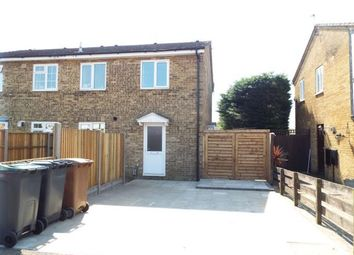 Thumbnail 1 bedroom end terrace house for sale in Lesbury Close, Luton, Bedfordshire