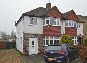 Thumbnail 3 bed semi-detached house for sale in Mortimer Crescent, Worcester Park, Surrey