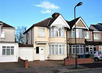 Thumbnail 3 bed semi-detached house for sale in Kingshill Avenue, Kenton